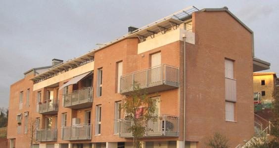 21 appartamenti Via Orlandi - Siena